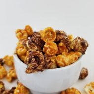 Chocolate & Toffee Popcorn