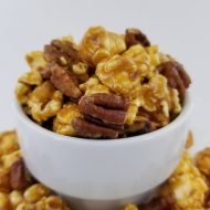 Caramel Corn and Pecans