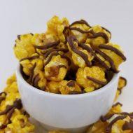 Chocolate Drizzled Banana