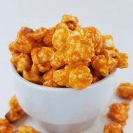 Orange Candy Popcorn